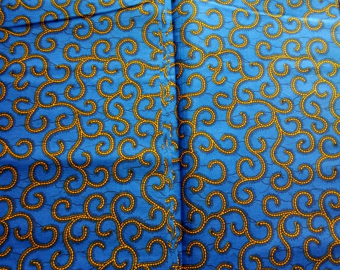 1 YARD African Ankara Print  Fabrics For Craft Making Dresses Shirts Ties /Sewing Fabric /Kitenge Pagnes Chitenge/ Cotton Fabrics