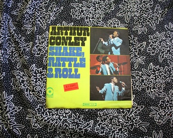 Arthur Conley - Shake Rattle And Roll Vintage Vinyl LP Record Album - Soul Blues Male Vocal Original Atco Records 1967 Mono First Pressing