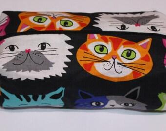 Black Kitten make up bag