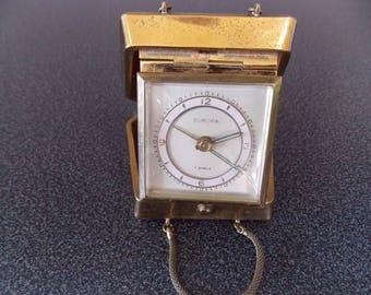 German Europa 7 jewels travel alarm clock