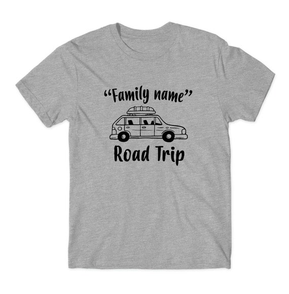 Car Custom Family Road Trip Shirt Vacation Shirts
