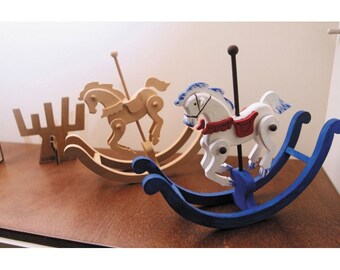 Rocking Horse, wooden horse, Great gift for anyone