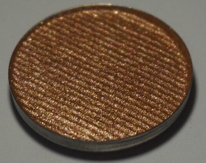 Sun Witch Eyeshadow - Metallic Orange Gold with multi colored reflects