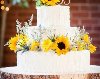 Bark cake stand | Etsy