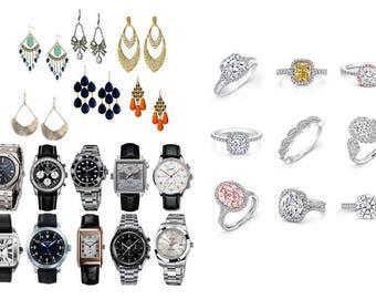 Necklace, Earrings, Piercing, Bracelet, Watch, Jewelry Prop & Accessory Add-on