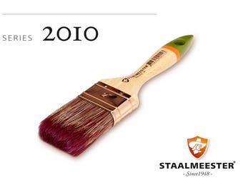 Staalmeester Flat Paint Brushes - Series 2010 - 3 Sizes