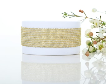 Atair - Golden and Silver woven bracelet