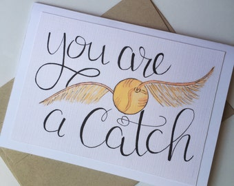You are a catch blank card