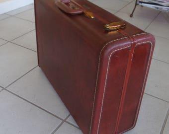 SALE Vintage Samsonite  Suitcase 50s Shywader Stackable Luggage
