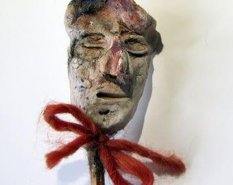 sculpture, ceramics, figurine, weird art - Mr. Suave