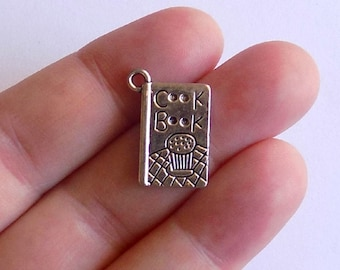 10 Cookbook Charms - #S0088