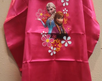 Anna and Elsa Floral Frozen Inspired Cape