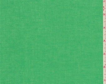 Spring Green Cotton Lawn, Fabric By The Yard