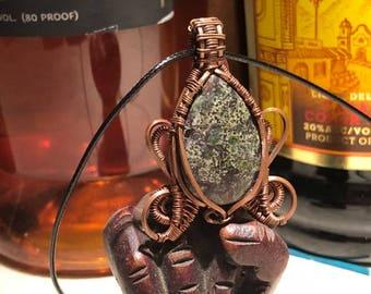 Copper Creature Pendant