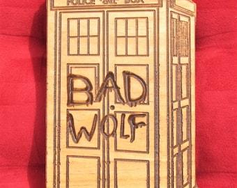 Bad Wolf;Tardis Bad Wolf;Tardis;Dr. Who;GallifreyanTime Machine