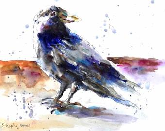 A Fine Crow -Giclée Print