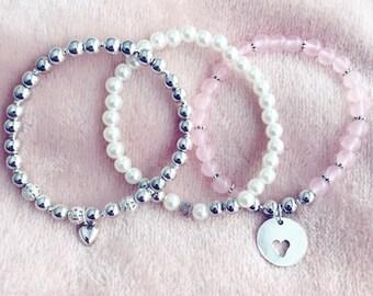 Trio of bracelets VALENTINE
