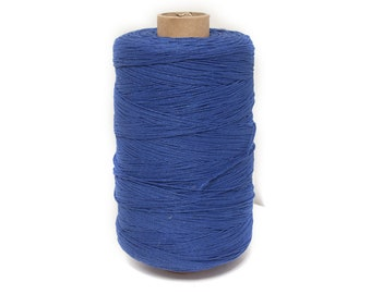 Bakers Twine , Cotton Bakers Twine, BlueTwine, Bakers Twine, Gift Packing Twine Crafting, roll candy stripe, Natural twine by EcoGG