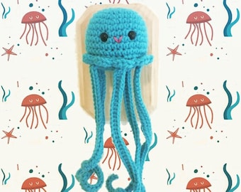 Crochet Taxidermy Jiggly Jellyfish