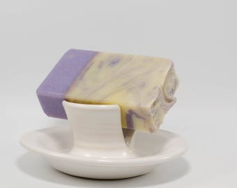 Lavender and chamomile handcrafted luxury soap