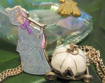 Fairy godmother enamel pin