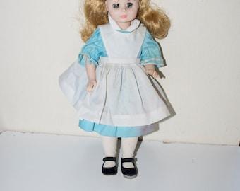 """Madame Alexander Alice in Wonderland Doll 13"""" # 1552"""