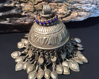 Vintage Tassels-Afghan Kuchi Jewellery-Kochi tribe jewellery Tassels