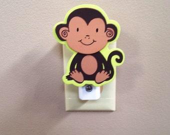 MONKEY Night Light, Jungle Night Light, Safari Night Light, Monkey