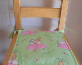 Custom Made Children's Chair Cushion Cover Pad Kids Child's Various Patterns