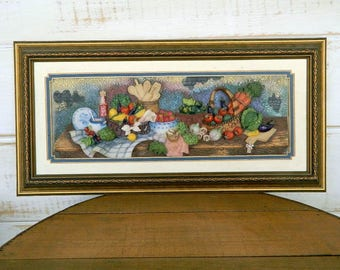 Montefiori Collection Framed 3D  Wall Plaque Picture