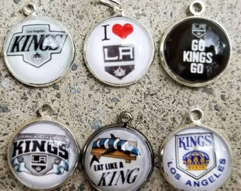 LA Kings single to 6 piece set of pendants