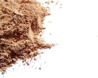 Mineral Foundation - Tan   Matte Finish Makeup - Vegan Friendly Makeup - Noncomedogenic - Conceaer