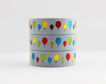 Washi tape foil tape color balloons Birthday masking tape