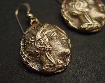 Athena - 449 BC - Earrings