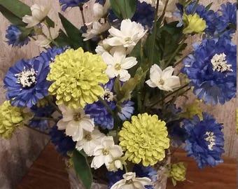 ROYAL BLUE CORNFLOWERS