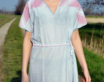 Vintage dress years ' 70 pastel color