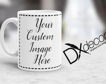 Custom Mug, Custom Coffee cup, Personalized coffee mug, Create your own,