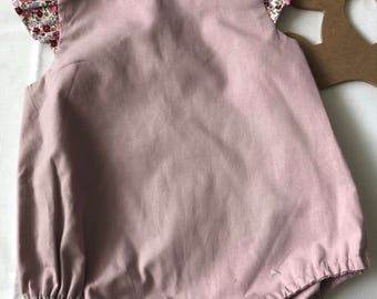 Dusty mauve fully lined bloomers . Size 18 m