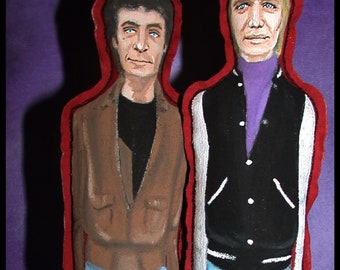 Starsky and Hutch Retro iCONS Primitive Collectible Art Dolls