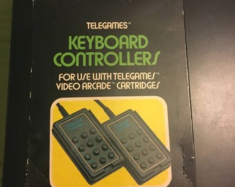 Telegrams keyboard controllers (1980s)