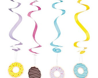 Donut Party hanging decorations/