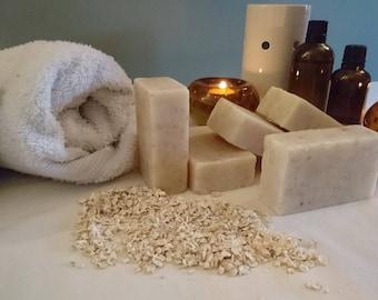 organic oatmeal handmade soap