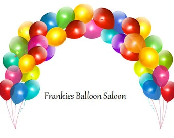 Frankies Balloon Saloon, All types of balloons and accessories for celebrations and parties. (FREE SHIPPING)
