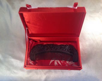 C0013- Wooden Comb