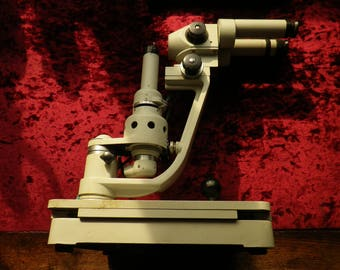 Vintage soviet / ussr /  Keratometer Ophthalmometer  / very scarce / working