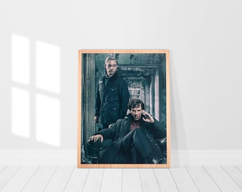 Sherlock, Sherlock poster, Sherlock print, Sherlock Canvas, Home decoration, Wall art, Wall decoration