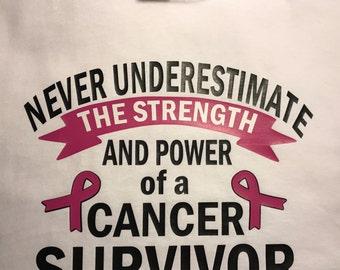 Never Underestimate a Cancer Survivor