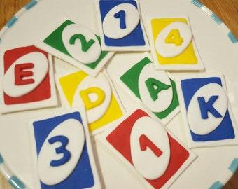Edible UNO Cards