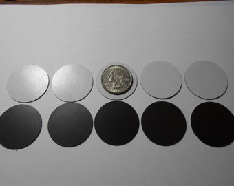 One and Half Inch Diameter Flexible Self Adhesive Magnets
