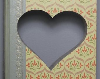 Book Art -  Heart